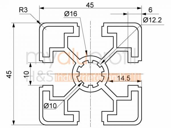 5 Model Aluminum Pipe Length:0,5-3 M Aluminium Pipe Profile round Almgsi0